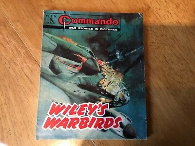 Commando War comic - No 1174 Wiley's Warbirds
