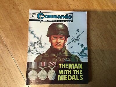 Commando War comic - No 1178 The Man With The Medals