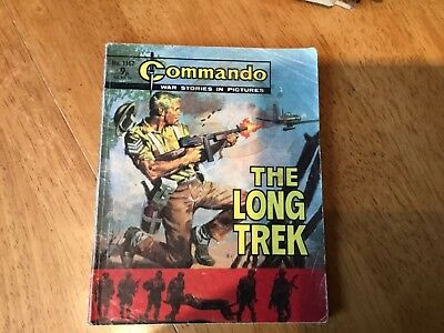 Commando War comic - No 1167 The Long Trek