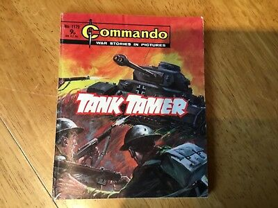 Commando War comic - No 1179 Tank Tamer