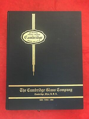 Cambridge Glass Company Collector's Book 1949-53