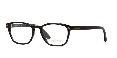 2a8daa6991feb AUTHENTIC TOM FORD Eyeglasses TF5505 001 Black Frames 52MM Rx-ABLE ...