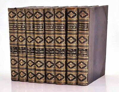 Cassell's Book of Knowledge, Harold F.B. Wheeler c1925-1935  Very Good