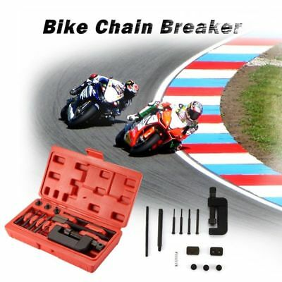 Heavy Duty Motorcycle Chain Splitter/breaker Riveting Tool Motorbike Fast Ship