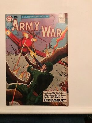 DC Comics Sgt. Rock's Easy Co. In Our Army In War February 1960