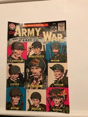 DC Comics Sgt. Rock's Easy Co. In Our Men At War November 1961 #112