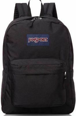 NEW JanSport Superbreak 25L Backpacks - Black 501T 100% Authentic