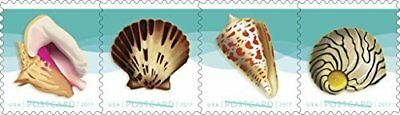 Seashells Postcard Stamp USPS Forever Stamps Roll of 100 - US Postage Card St...