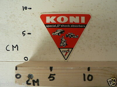 Sticker,decal Koni Special D Shock Absorbers Vintage Not 100 % Ok