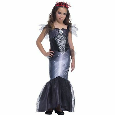 NEW Dark Siren Girls Halloween Theme Party Costume Size M 8-10