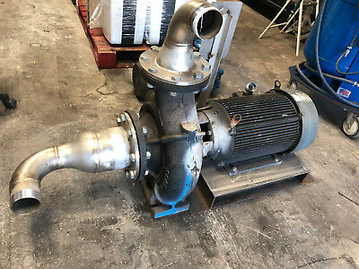 20 Hp Scot Centrifugal Pump 3Ph 208-230/460 V Gould