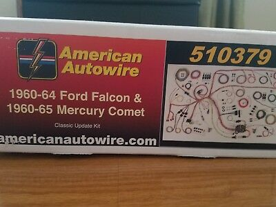 Ford Falcon Mercury Comet American Autowire 510379 Wiring 1960 ford ranchero wiring diagram schematic diagrams