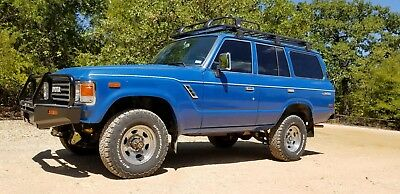 1984 Toyota Land Cruiser  Overland vehicle: FJ60 in great condition w/ new ARB components, T/A Radials.