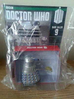 Eaglemoss Doctor Who Figurines Collection Rare Dalek Issue SD 9 + Magazine New