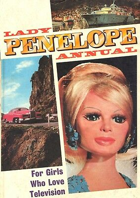 Lady Penelope Comics - 1966/ 71 Issues/ 6 Annuals / - Dvd Rom Collection