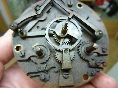 Antique French Clock Striking Movement (Cl)