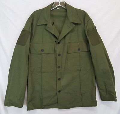 WWII US Army SPECIAL HBT Jacket 36R dated 1943 13 Star Button Atlantic MFG