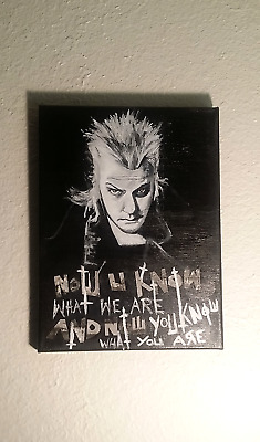 The Lost Boys David's Words Mixed Media Painting by godspRosyko - The Lost Boys