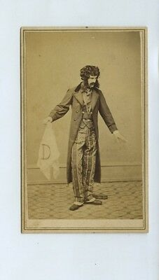 Actor E. A. Southern as Lord Dundreary - CdV Photo Civil War Tax Stamp c1860s