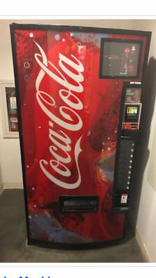 Coca Cola Soda Vending Machine - USED - Made by Dixie-Narco
