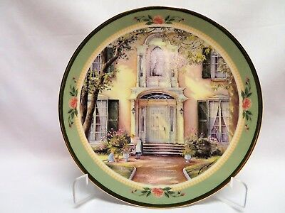 Trisha Romance Collector Plate, The Pathway (Ltd and Numbered)