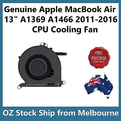 "Genuine CPU Cooling Fan for MacBook Air 13"" A1466 2012-2016 A1369 2011 923-0442"