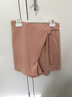Staple the Label, forver short in tan (size small)
