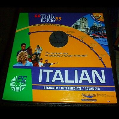 New Learn Speak Italian Language Course Talk  COMPLETE Three Levels with HEADSET