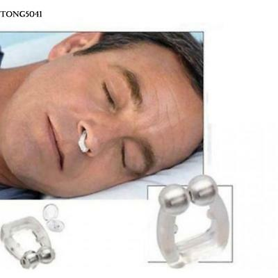 Unisex Stop Snoring Anti Snore Free Sleep Silicone Magnetic Nose Clip O041 01