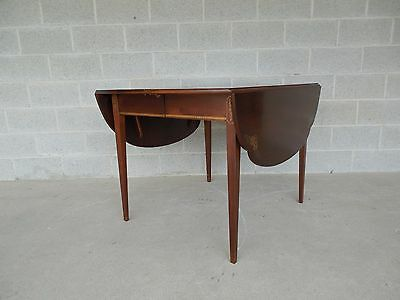 L. Hitchcock Cloverleaf Dining Extension Table