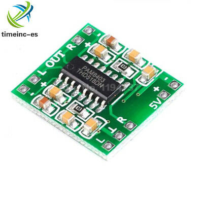 2PCS 5V  PAM8403 Mini Digital Power Audio Amplifier Board Class D 2 Channels 3W