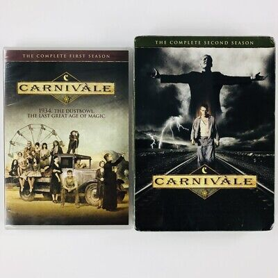 CARNIVALE: Complete Series on DVD HBO TV Show Both First & Second Season 1 2