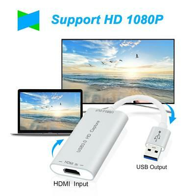 HD to USB3.0 Adapter Converter HD Capture Dongle Video Cable Capture Device C8U0
