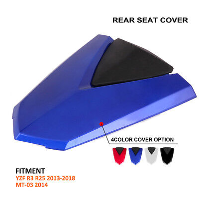 New Rear Seat Fairing Cover Cowl For Yamaha YZF R3 R25 2013-2018 MT-03 2014