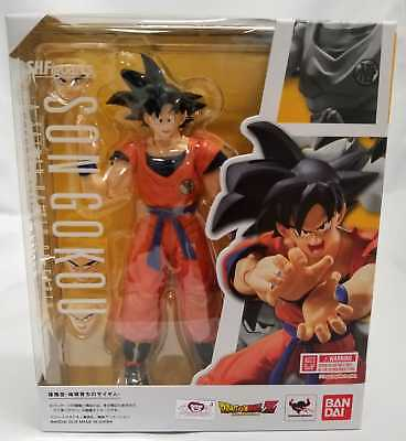 New Bandai S.H Figuarts Dragonball Z Son Goku A Saiyan Raised On Earth USA
