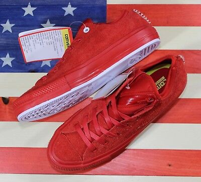 c282633ef4c6 CONVERSE UNRELEASED SAMPLE Chuck Taylor ALL-STAR OX Casino-Red Suede   153639C