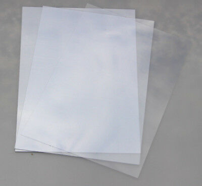 Clear A4 Acetate Sheets For Timber Boards