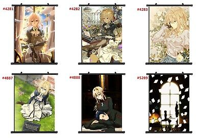 """Anime Violet Evergarden manga Wall Scroll Poster cosplay8""""x11"""""""