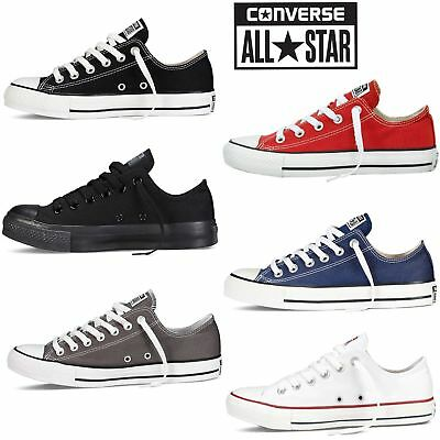 New ALL Stars Casual Mens Womens Low Top Chuck Taylor Trainers Shoes UK 3.5-11