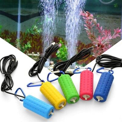 USB Air Bubble Disk Stone Aerator Pond Pump Hydroponic Oxygen Aquarium Fish Tank