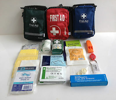Hiking Walking First Aid Kit - 1 Person - Includes Blood Stopper & Belt Loop