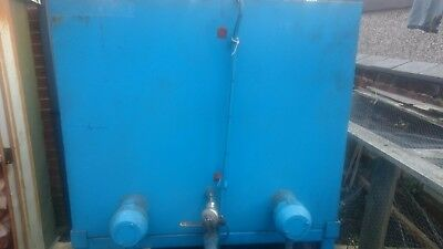 hydraulic power pack 15 kw triple stage pumps racine and rexroth sigma 3 phase