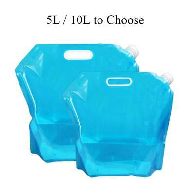 5L 10L Folding Water Bag Storage Outdoor Portable Camping Hiking Container Kits