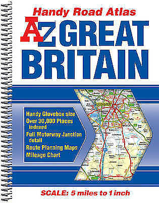 """AS NEW"" Geographers A-Z Map Co Ltd, Great Britain Handy Road Atlas 2014 (A-Z Ro"