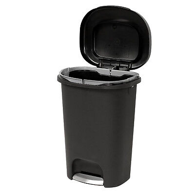 Step On Trash Can 13 Gal Rubbermaid Waste Garbage Bin Basket Kitchen
