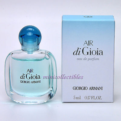 Giorgio Armani AIR DI GIOIA Eau de Parfum 5 ml Mini Perfume Miniature Bottle