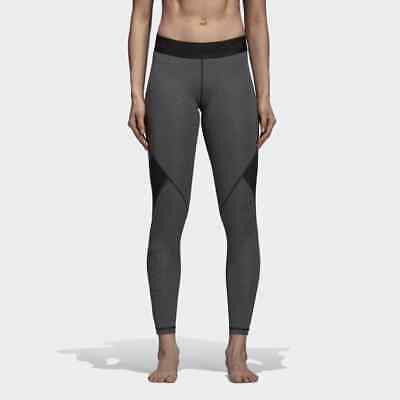 pretty nice fc5f1 876d6 adidas Wmns Training Alphaskin Sport Tights New Grey Black Women DH4462