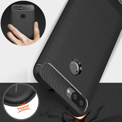 For Asus Zenfone Max Plus M1 Pegasus 4S ZB570TL Soft TPU Brushed Full Cover Case