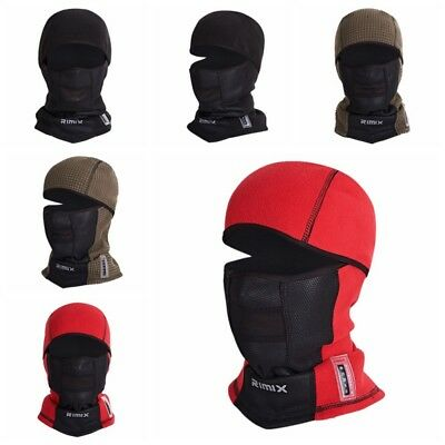 Motorcycle Thermal Fleece Balaclava Neck Warmer Ski Full Face Mask Cover Cap Hat