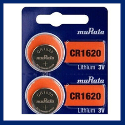 SONY CR1620 BATTERY BATTERIES 1620 DL1620 KRC1620 CELL BUTTON 3V -Expire 2026 X2